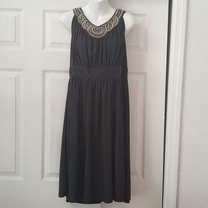 HAANI XL halter A-line dress